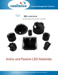 Luminus LED Heatsink