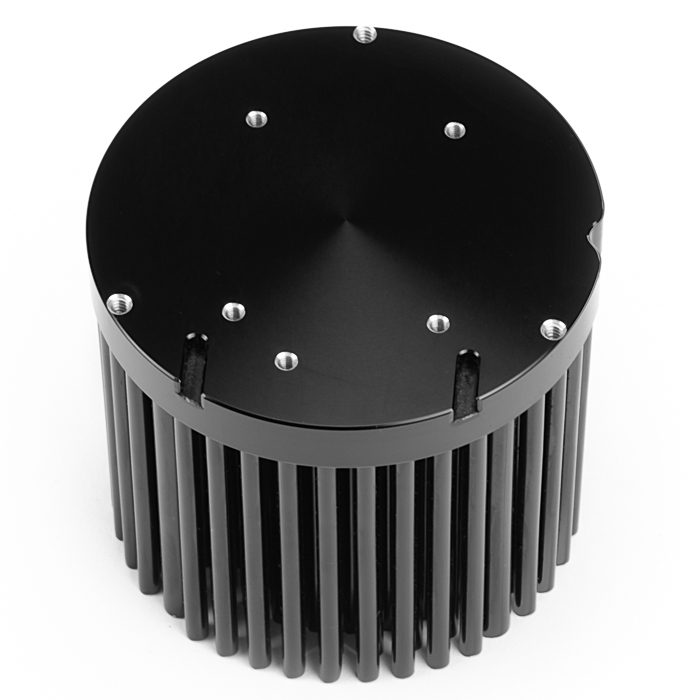 Passive LED heatsink assembly